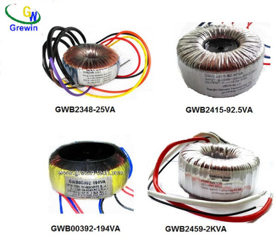 Copper Core Distribution Toroidal Transformer for Audio