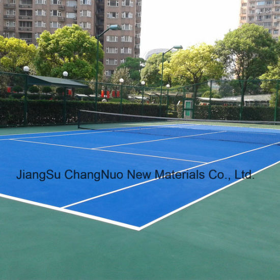 Cn-S01 Factory Supply Spu Sports Rubber Flooring with Iaaf Certificate pictures & photos