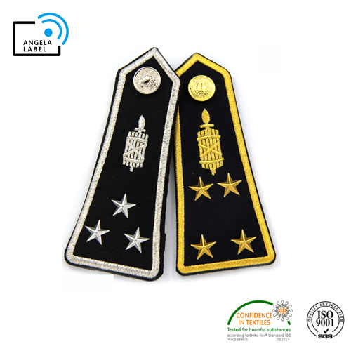 Wholesale Handmade Bullion Army Rank Insignia Custom Military Bar Epaulet pictures & photos