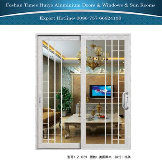 China Hot Sale Interior Aluminium Sliding Partition Door China