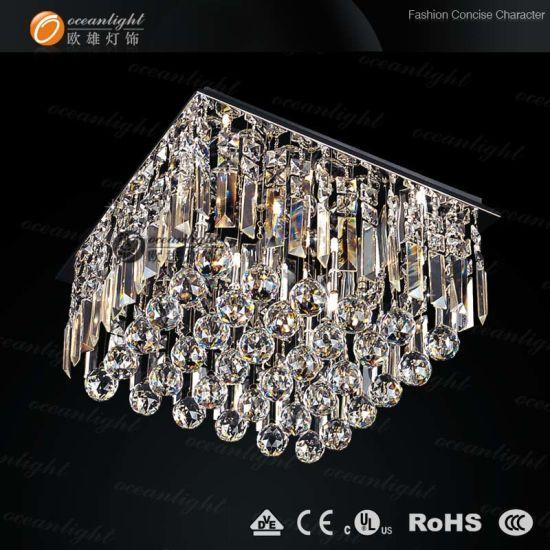 Modern Crystal Leiling LED Chandelier Lighting (OM8861)