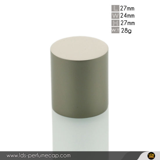 Shiny Le Labo Shape Metal Spray Zamac Cap for 50ml Perfume Bottle