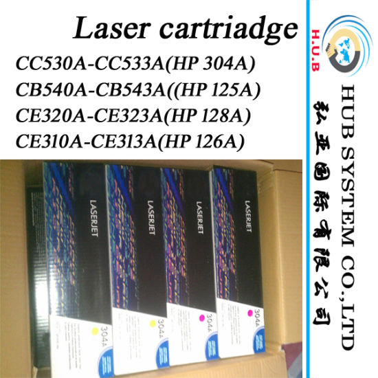 Laser Color Cartridge for HP CB540A (125A) ; HP Cc530A (304A) -OEM Compatible