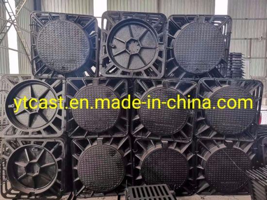BS En124 Ductile Iron Circular Manhole Covers