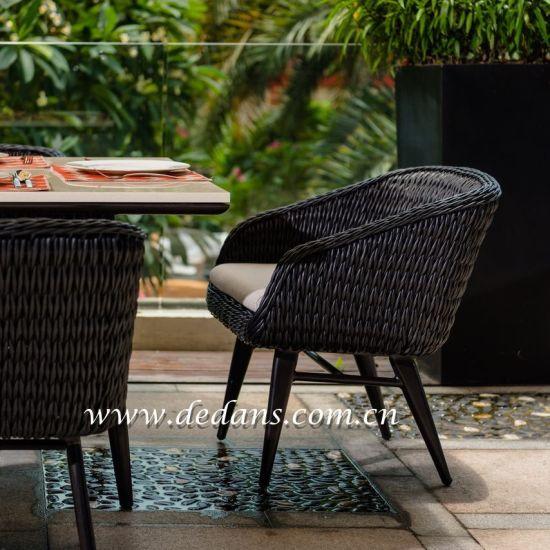 China Vada Outdoor Pe Wicker Rattan, Wicker Rattan Dining Room Chairs