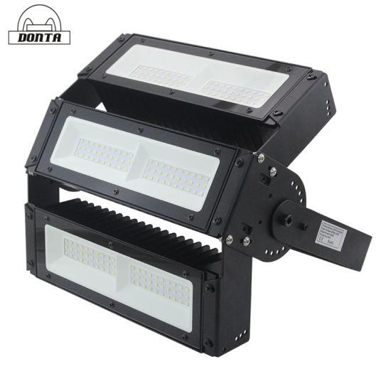 Module Adjustable LED Flood Light 100W 150W 200W Sport Stadium Tennis Court Golf Course