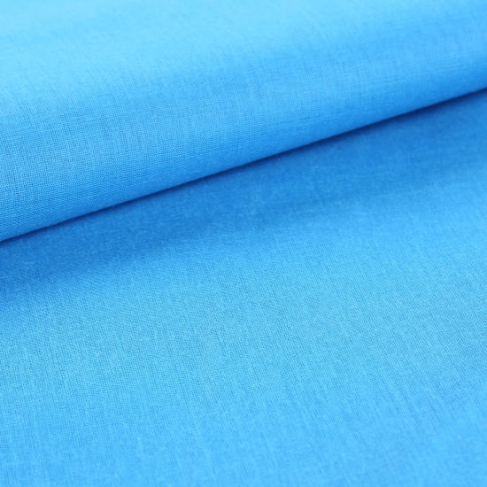 "45s*45s 70GSM 100% Polyester Plain Dyed Poplin Fabric for Workwear Uniform 45"" pictures & photos"