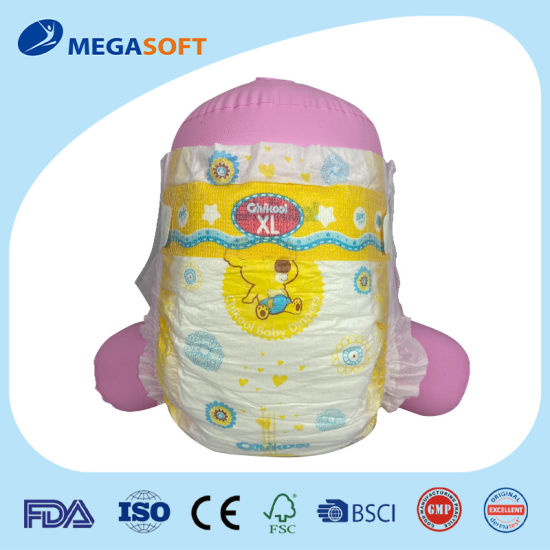 Baby Care Product Fully Elastic Waistband Type Classtic Disposable Baby Diaper with Clothlike Backsheet