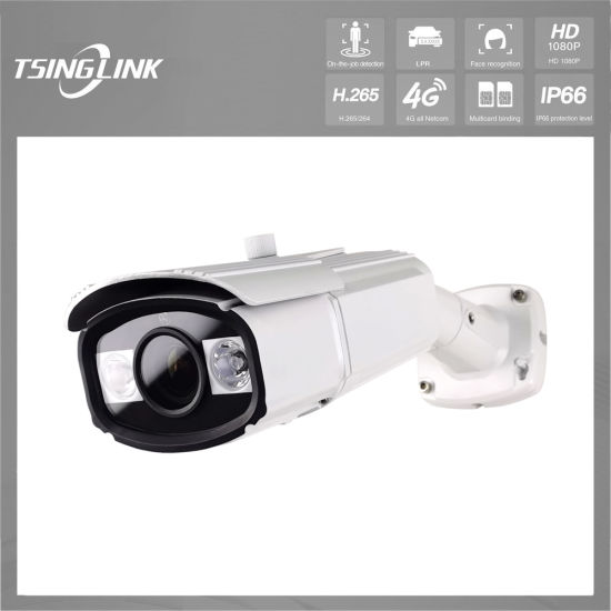 Outdoor Highway Road Home Security Camera Network Remote Video Surveillance Wired 1080P HD Lens IR WDR 2.0MP Color Sensor Bullet Weatherproof IP CCTV Camera