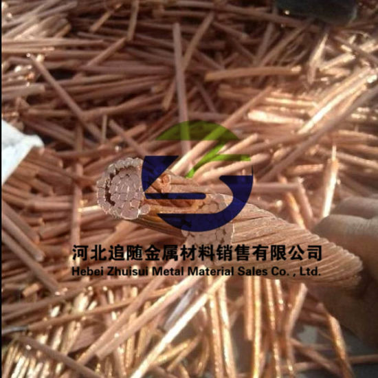 Price of Copper Wire Scrap for Sale with 99.95% Purity From China