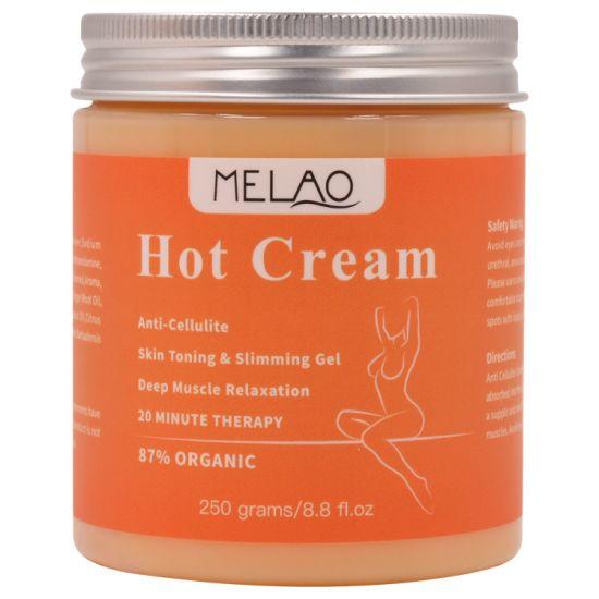 Hot Cream Treatment Fat Burner for Women and Men Natural Cellulite