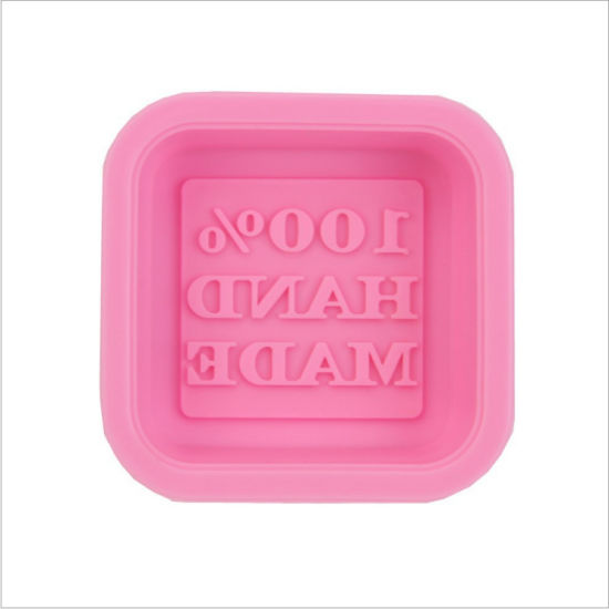Rectangle Handmade Silicone Soap Mould/Mold