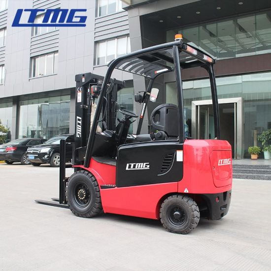 Ltmg Battery Forklift 2.5ton 3ton 4.5ton Electric Forklift with Full Free Mast