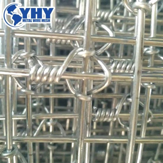 1.5mx100m Tight Lock Knot Woven Metal Fence for Deer