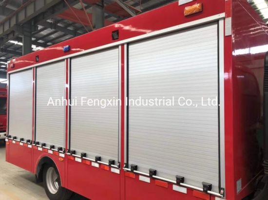 Fire Vehicles Aluminum Rolling Shutter Cargo Truck Blind Door Slide Type