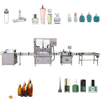 Peristaltic Pump Rotary Type Dropper Bottles Filling Capping Machine