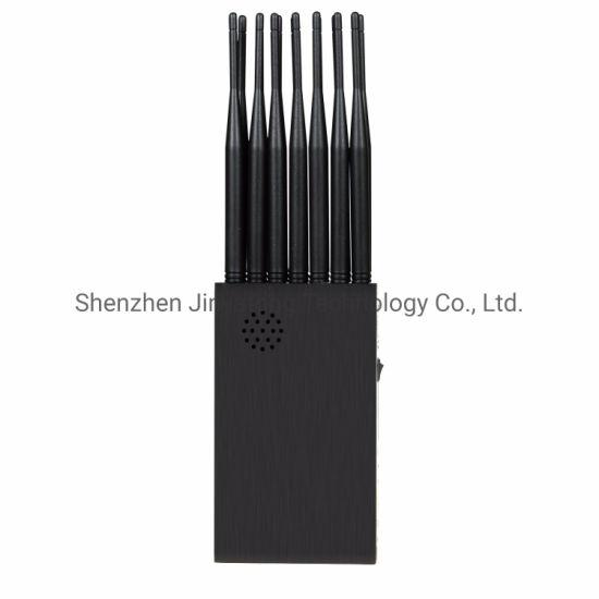 14 Antennas Plus 2g. 3G. 4G. Cell Phone Signal Jammer GPS. WiFi 5.2g. 5.8g. Lojack with Longer 2.0dBi Gain Antennas. 12000mAh Battery
