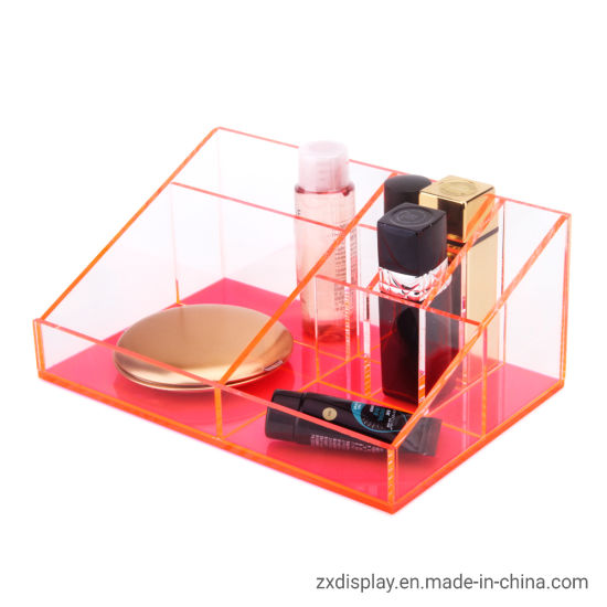 Acrylic Neon Color Cosmetics and Beauty Tools Storage Box