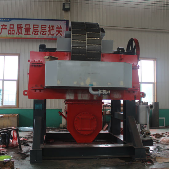 Developed Independently Mining Equipment High Gradient Wet Type Vertical Ring Electro Magnetic Separator Manufacturer