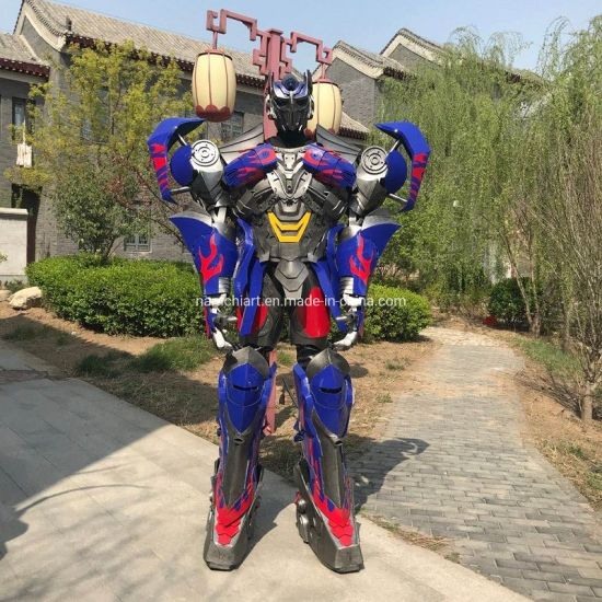 10FT Human Wearing Inside Realistic Robot Optimus Prime Suits for Business Promotion Show