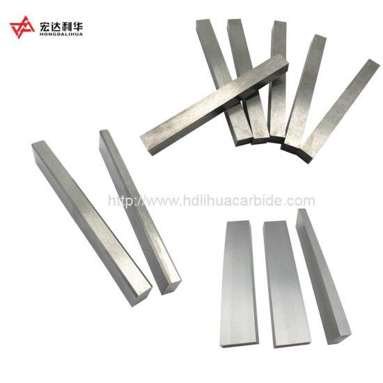 Yg6 Yg8 Tungsten Carbide Flat Bars, Plates, Square Bars, Blocks, Strips, Round Bars