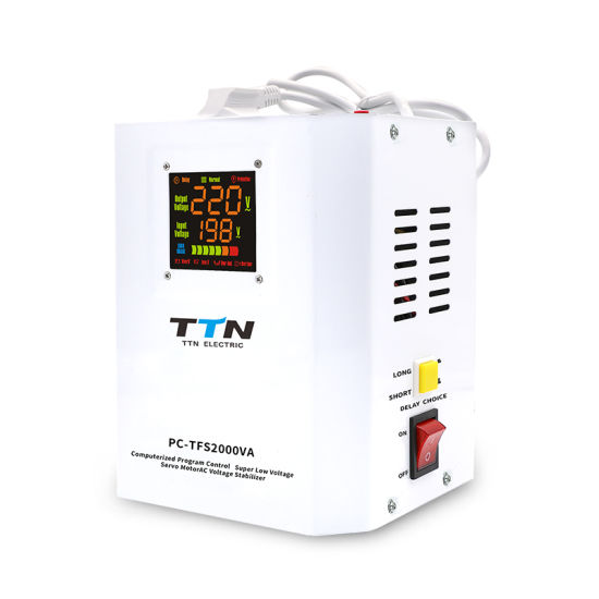 Best Price 500 Watt Real V Guard Mainline AC Voltage Stabilizer AC Regulator Home for Gas Boiler