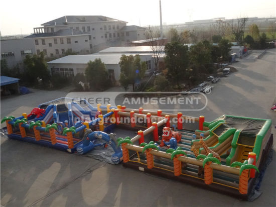 Giant Interactive Inflatable Bouncer for Indoor Playground pictures & photos