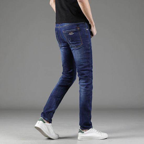 China Good Quality Men S Slim Fit Fashion Stretch Jeans China Men S Jeans And Stretch Jeans Price