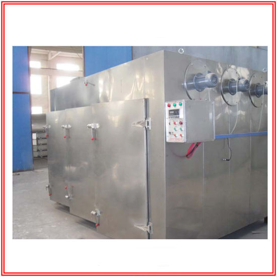 Stainless Steel Hot Air Circulation Drying Oven with Trays