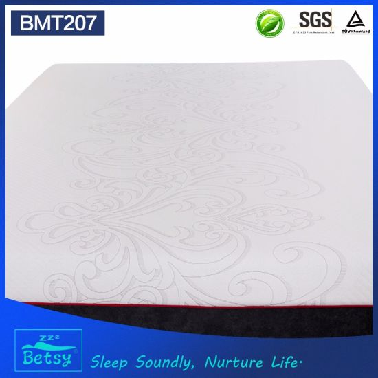 OEM Compressed Diamond Foam Mattress 30cm with Double Jacquard Fabric Cover and Wave Foam pictures & photos