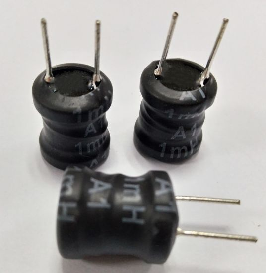 China Radial Leaded 12*14 Inductor Bobbin Coils Choke Coils PCB