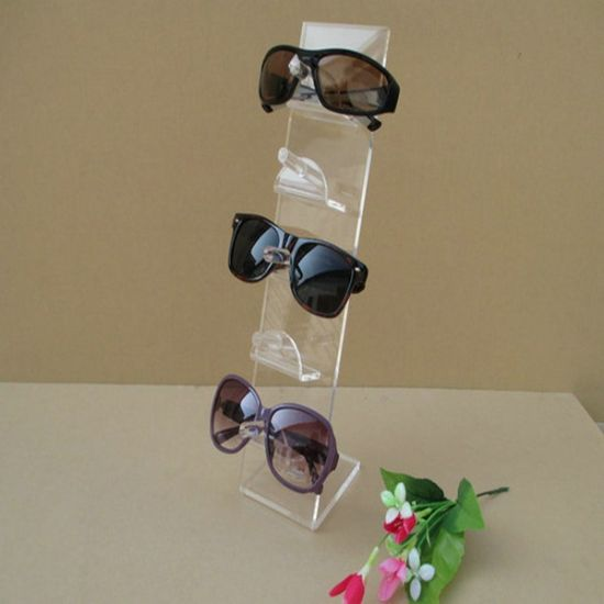 High Transparent 5 Pair Acrylic Sunglasses Glasses Retail Shop Display