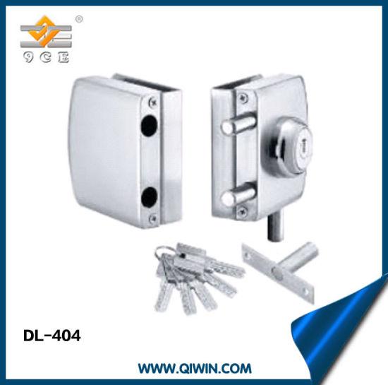 China Glass Door Stainless Steel Double Door Lock China Glass Door