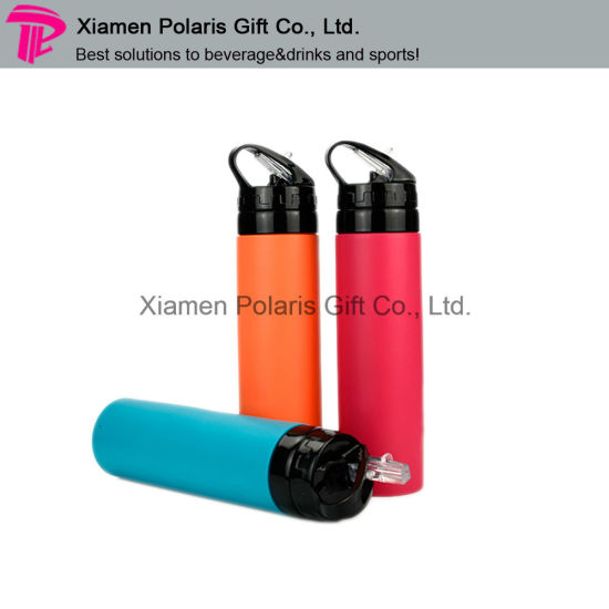 Customized Food Grade FDA Standard BPA Free Silicone Water Bottle