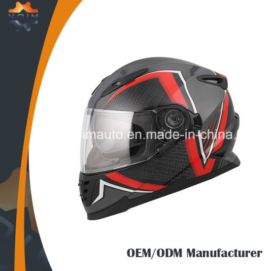 8d134eca Discount Moto Racing Helmen with Double Visors Anti-Fog Motorcycle Helmet