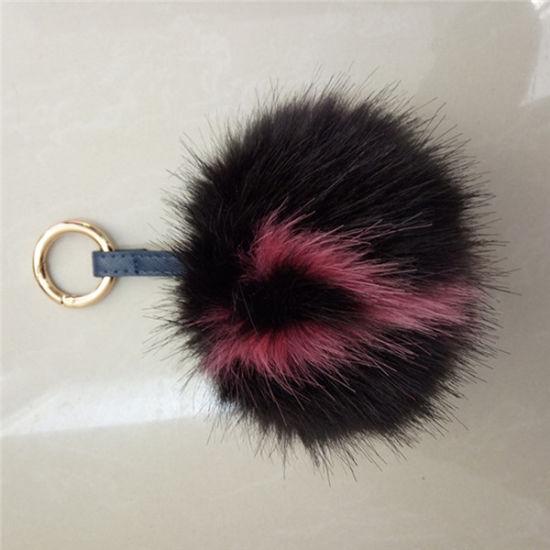China Wholesale Bag Charm Fur Cheap Fake Fur Ball Fake Fox POM Poms ... 71f1f1c11b12f