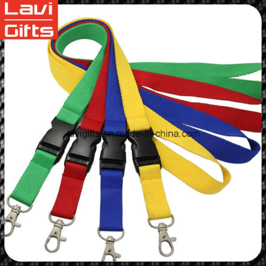 Customized Fashion Woven Lanyard with Logo pictures & photos