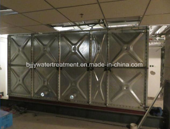 Hot Pressed Steel Sectional Water Tanks Galvanized Water Tank