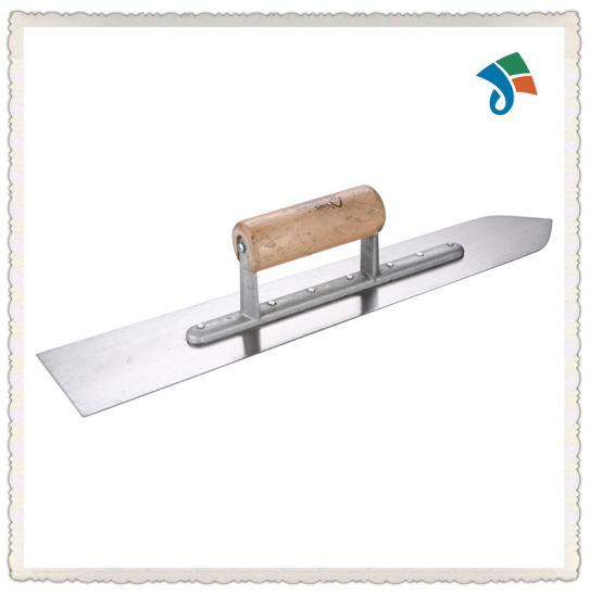 Wood Handle Carbon Steel Trowel