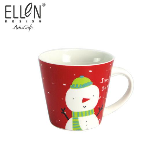 Wholesale Christmas Penguin Design Ceramic Mug