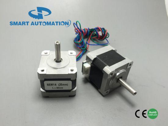 NEMA 14 35mm Stepper Motor 1.8 Degree or 0.9 Degree