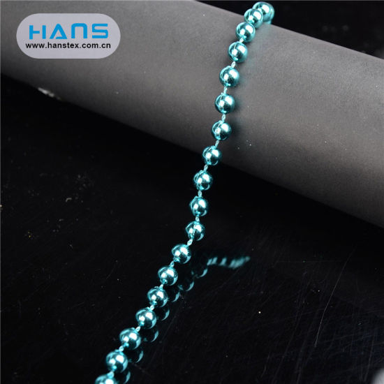 Hans Customized Service Clean and Flawless China Plastic Beads
