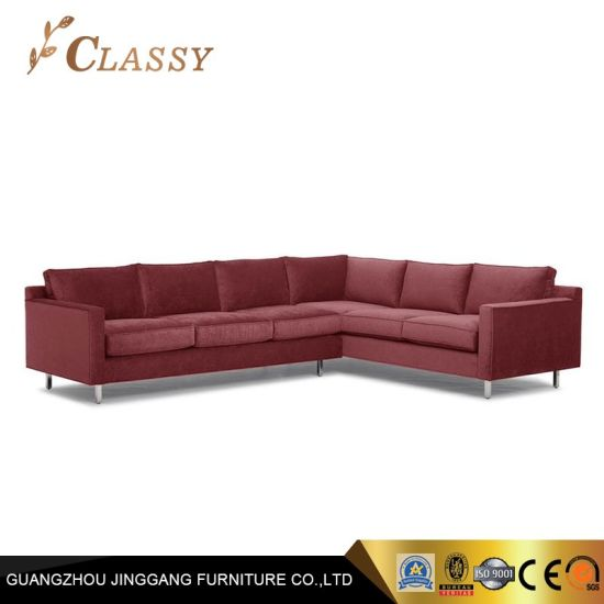 Living Room L-Shape Sectional Sofa Modern Sofa for Sale