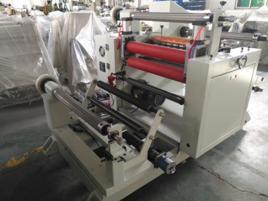 Adhesive Tape Film Slitting and Rewinding Machine for Paper and Fabric