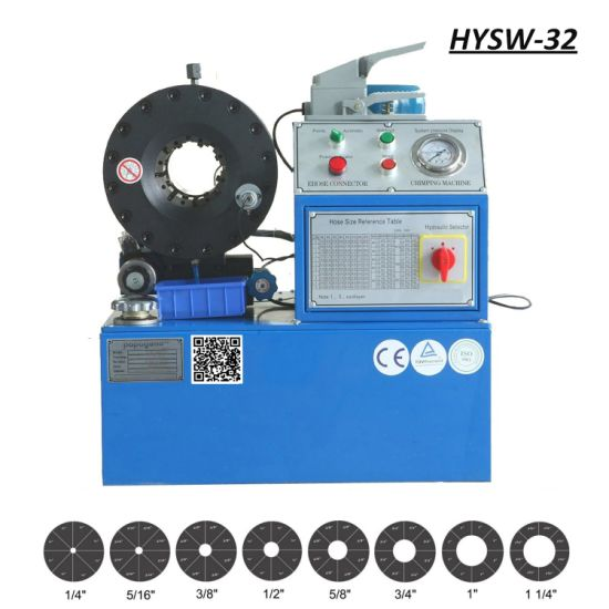 Hysw-32 Hydraulic Hose Swager / Crimping Machine Ce