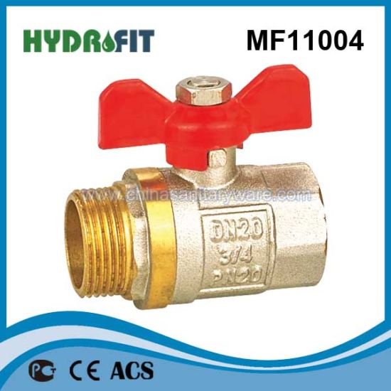 Brass Ball Valve (MF11002) pictures & photos