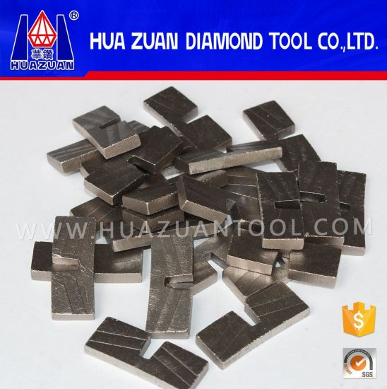 Diamond Granite Segments for Edge Block Cutting pictures & photos