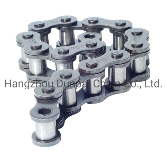 Transmission Conveyor Motorcycle/Bicycle Chain Roller Chain /Hollow Chain/Steel Pintle Chain