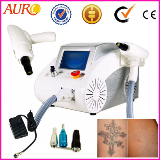 China ND YAG Laser Machine for Pigmentation and Tattoo Removal ...