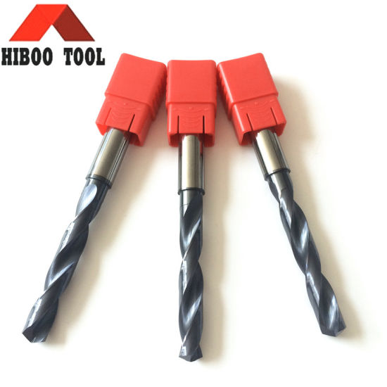 High Precision Tungsten Carbide Drill with Coolant Hole pictures & photos